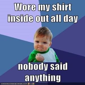 success kid shirt